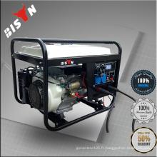BISON Chine Zhejiang 6KW AC triphasé générateur de soudeuse portable bon marché