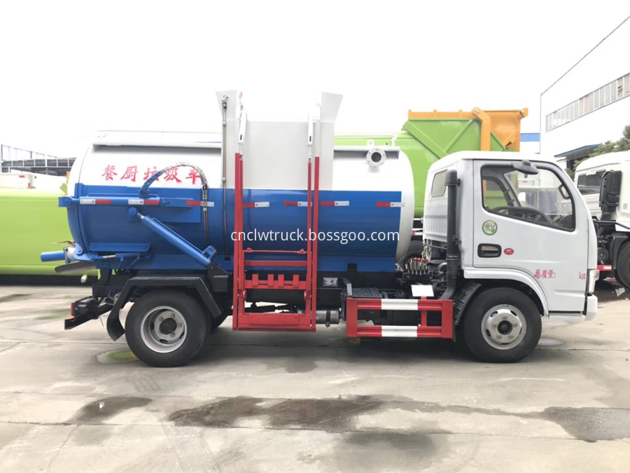 food waste truck for sale