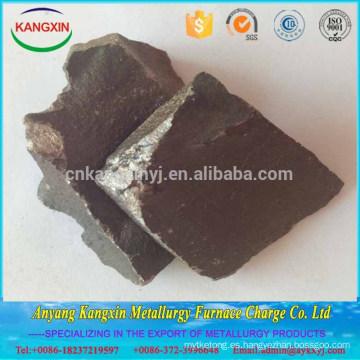 Alibaba stock de alto contenido en carbono de manganeso Ferro silicio manganeso para la fabricación de acero
