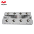 COB Led Grow Light com copo reflexivo COB chip 9x200W para plantas médicas internas
