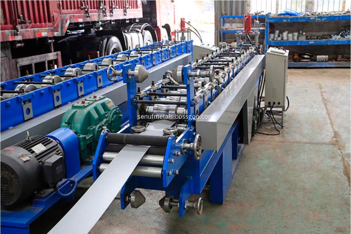 roller shutter door forming machine 1