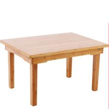 mesa portátil de bambú plegable de alta calidad de la computadora portátil