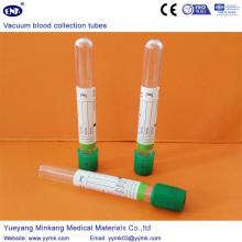 Tube d'héparine de tubes de prélèvement sanguin sous vide (ENK-CXG-026)
