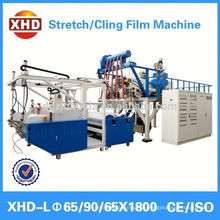 pe/cling film rewinding/cutting machine