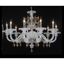 Hand and Art Glass Candle Pendant Lighting 80167-10