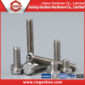 Ss304 Slot Pan Head Screw / Machine Screw