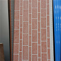 Corrugated metal insulated decorative outdoor PU wall siding