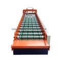 High quality fully automatic trapezoidal roof sheet making machine