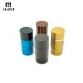 Recipiente de empacotamento cosmético vazio plástico desodorante recipiente de cilindro por atacado