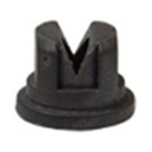 Black Flat-fan Foam Nozzle Made Of Plastic