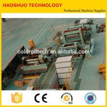 Haute qualité HR CR SS GI Feuilles en acier machine à fendre