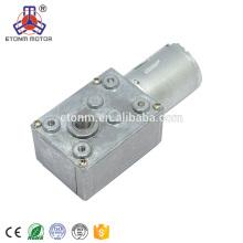 Motores del engranaje de gusano de la cortina eléctrica de poco ruido 12v 24v 2rpm dc
