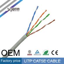 SIPU usine prix 26awg utp cat5e 4 paire en gros cat5 lan fournisseur meilleur chat 5 câble