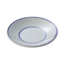 Melamine Round Plate/Melamine Blue Moon Plate (BM13218)