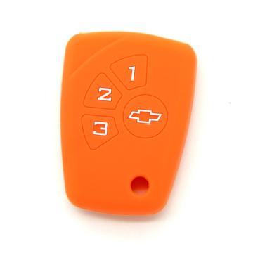 Cubierta de la llave del coche del silicón de los accesorios del protector de Chevrolet