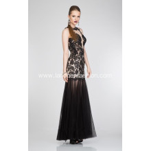 Corset Black Lace Prom Dresses