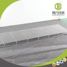 Fabricante de piso de acero triangular galvanizado en caliente para cajas de parto