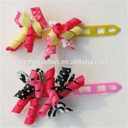 Factory Customized Eco Friendly Hair bows wholesale hair accessories