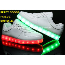 Hommes Flash Light LED Chaussures Luminous LED Chaussures (FF331-1)