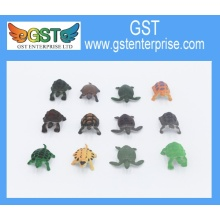 Plastic PVC Toy Sea Turtles 1.75 inches