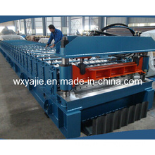 Wuxi Factory Wall Panel Cold Roll Forming Machine with Hydraulic Cutting