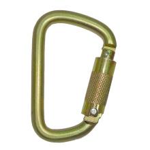 2480TL-3 Steel D Type Carabiner Triple Lock