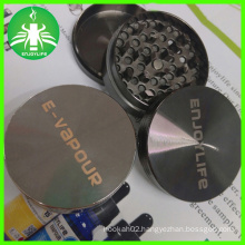 Zinc Alloy Weed Grinder, Enjoylife 50mm 3layers Herb Grinder