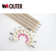 OLITER pointe consommable rapide hotsale type b jetable thermocouple pour connecteur en acier fondu 604 triangle