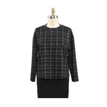 Pulls basiques en tricot à col rond pour femme Pull