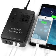 ORICO TPC-2A4U 2-outlet Surge Protector com quatro portas USB