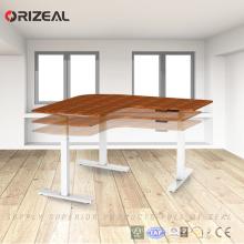 Vente d'usine attrayant style hauteur réglable Bureau Table réglable hauteur bureau cadre