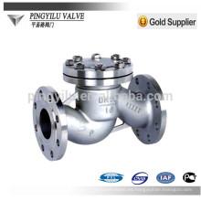 Válvula de retención de acero inoxidable dn80 pn16 wate pipe H41 / 44W-16P / R