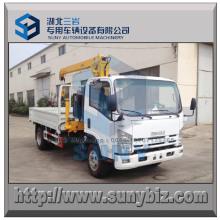 Grúa montada en camión Isuzu 4X2 3000 Kg