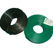 0.25lb small winding machine coil pvc coated iron tie wire for supermarket