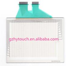 Resposta rápida Qualidade excelente 7,4 polegadas Resistive Digital Touch Screen Personalizado para Omron NS5