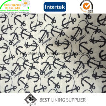 Hot Selling 100% Polyester Print Lining with High Quality