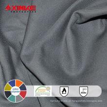 Uso da tela de 65/35 CVC Fireproof para a indústria protetora