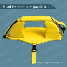 Dispositivo pediátrico imobilizador de cabeça para suporte de cabeça infantil