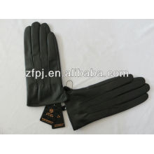 2014 hombres simples guantes de cuero de diseño venden bien
