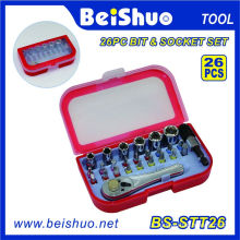 Multi Screwdriver Socket and Bits Set