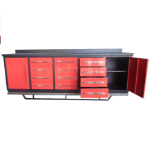 Heavy Duty Workshop Use Metal Workbenches with Tool Cabinet Qingdao Supplier