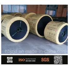 Subterrânea de mina de carvão, correia transportadora de PVC