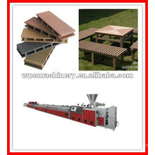 machines to make wood plastic wall panel