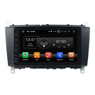 android car entertainment-systeem voor C-klasse W203