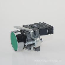 Commutateur électrique de bouton poussoir de Lay4-Ba31 / bouton poussoir de retour de ressort 220V