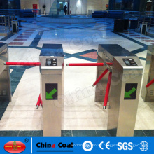 Security Access Control System Automatic Barcode Reader Tripod Turnstile
