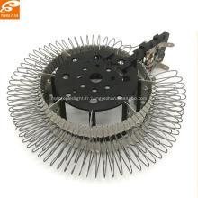 Pièces de radiateur de ventilateur rondes personnalisées en mica