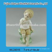 Decoración de boda de cerámica con diseño de niño