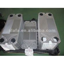 Placa de 316L de substituição AK20, trocador de calor de placas, SS304, 316L, titânio