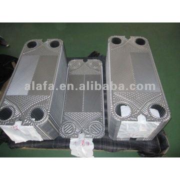 AK20 plaque de remplacement inox 316L, échangeur de chaleur à plaques, SS304, 316L, matériau titane